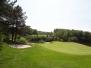 Vertidrainen und besanden mit Hohlrohr Greens Golfplatz Brunssum