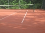 Wartung Tennisplatz